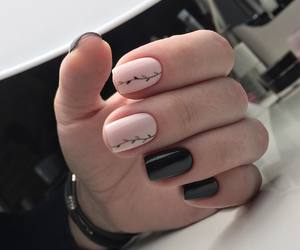art, nails, and manicure image