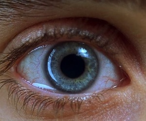 eye, requiem for a dream, and eyes image