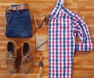casual, lifestyle, and men image
