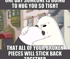 hug and panda image