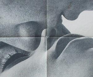 kiss, couple, and theme image