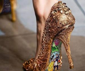 chaussures, disney, and la belle et la bete image