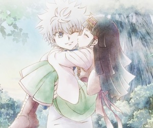 anime, hunter x hunter, and killua image
