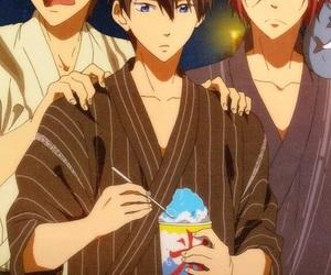 background, rei, and makoto image