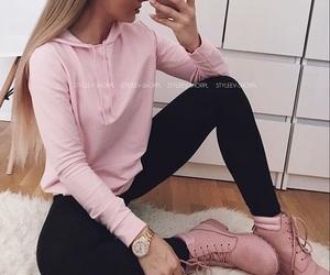 haïr, clothes, and fashion image