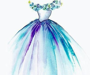 disney, draw, and dress image