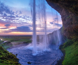magical and waterfall image