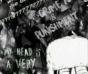 anime, fyodor dostoyevsky, and manga image