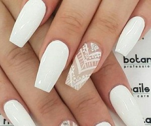 nail, nail art, and white image