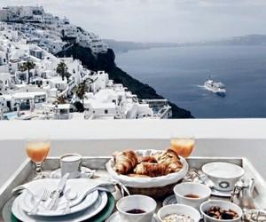 breakfast, food, and Greece image