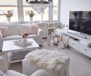 interior, livingroom, and white image