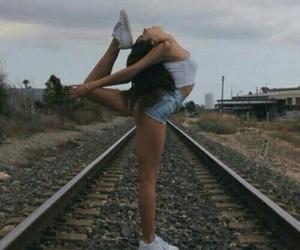 girl and gymnastics image