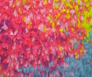 art, colourful, and pink image