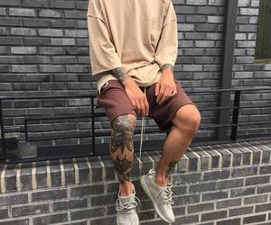 tattoo, boy, and yeezy image
