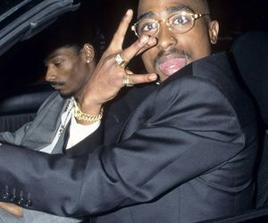2pac, snoop dogg, and rap image