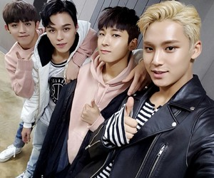 Seventeen, vernon, and mingyu image