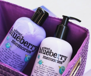 blueberry, body care, and body lotion image