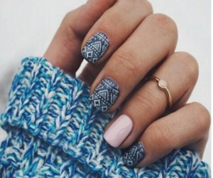 decorated nails image