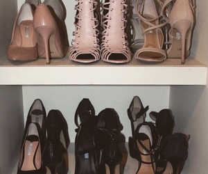 collection, heels, and shoes image
