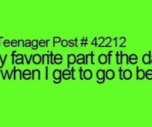 funny, teenager post, and bed image