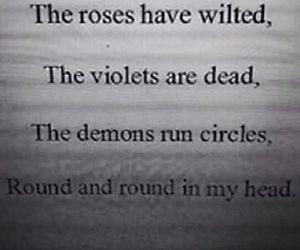 demons, sad, and dead image