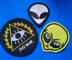 90s, alien, and etsy image