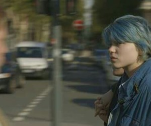blue is the warmest color, blue, and Lea Seydoux image