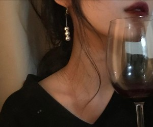 wine, aesthetic, and beauty image
