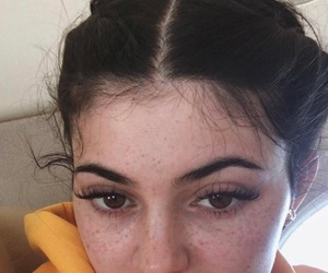 brown eyes, freckles, and baby hairs image