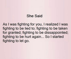 fighting, hurt, and she image