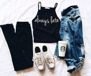 fashion, warm, and jeans image