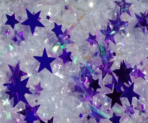 stars, purple, and glitter image