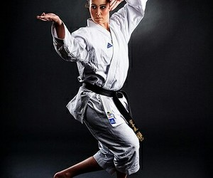 chicas, deportes, and karate image