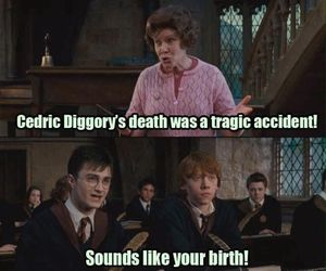 harry potter, funny, and umbridge image