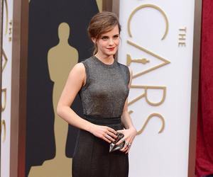 emma watson, oscar, and red carpet image