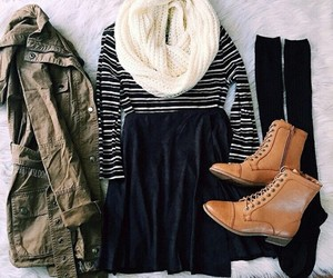 fashion, clothes, and fall image