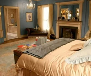 gossip girl, room, and bedroom image