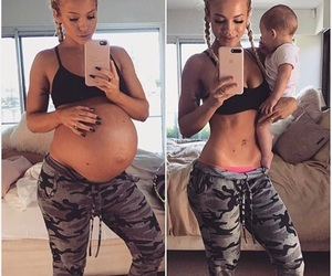 goals, baby, and mother image