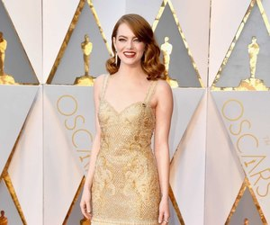 emma stone, oscar, and actress image