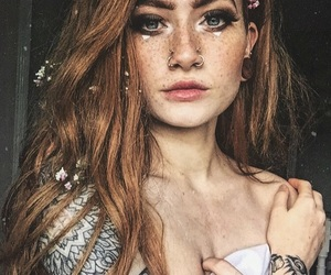 icon, freckles, and instagram image