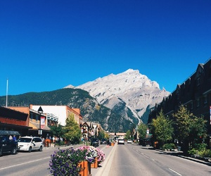 canada, banff, and Alberta image