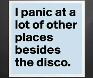 funny, P!ATD, and panic! at the disco image