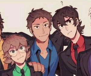 Voltron, hunk, and keith image