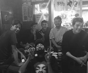 exo, d.o, and kim woo bin image