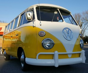 volkswagen, yellow, and vw image