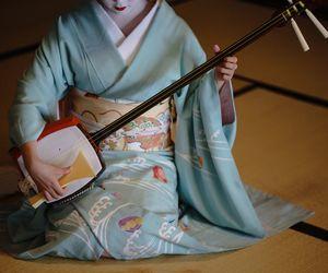 blue, geisha, and maiko image