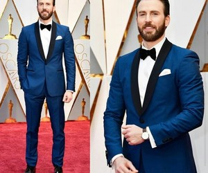 chris evans, actor, and blue image