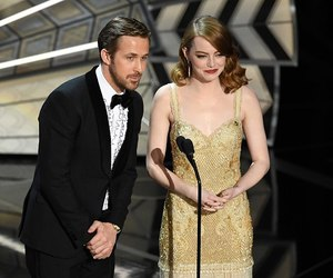 emma stone, oscars, and ryan gosling image