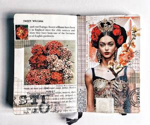 art, journal, and ideas image