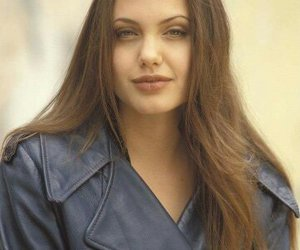 Angelina Jolie, young, and 90s image